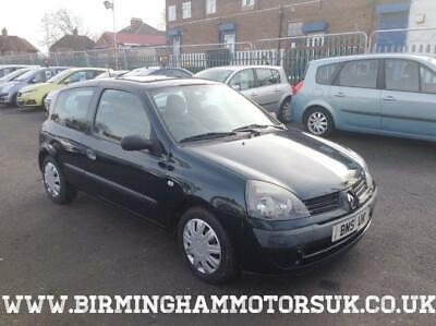 2004 54 Renault Clio 1.4 EXPRESSION AUTOMATIC 16V 3DR Hatchback BLUE + LOW MILES