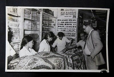 Indian Old Vintage Very Fine Black & White Photograph Collectible 52