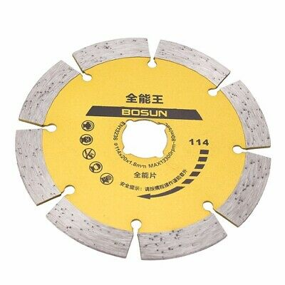 "115mm 4.5"" Diamond Cutting Disc Saw Blade Wheel Concrete Stone Angle Grinder"