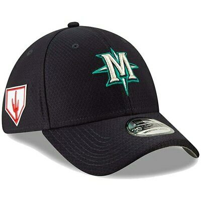 dc95bc229e6 OAKLAND A S NEW Era 2019 Spring Training 39THIRTY Fitted Hat – Green ...