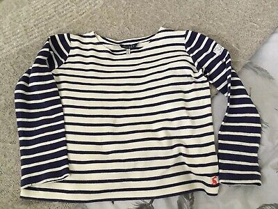 Joules Stripe Breton Top Age 7-8 Years