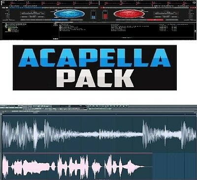 ACAPELLA 13GB DJ Pack - 2450 Vocal Samples, Hip Hop, House