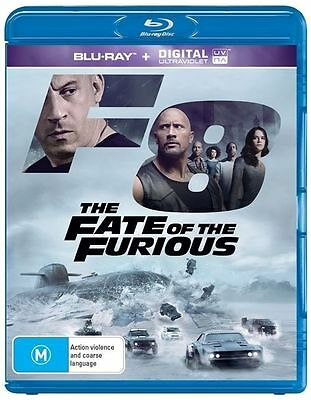 The Fate Of The Furious - Fast And Furious 8 : NEW Blu-Ray