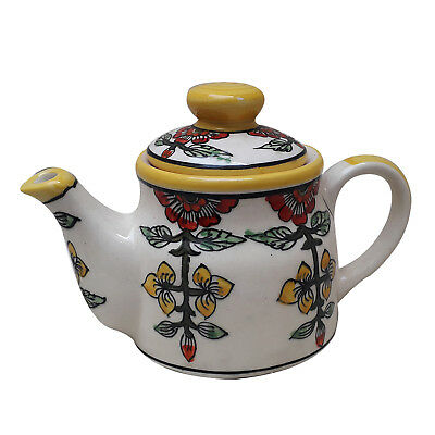 Tea Pot Kettle Ceramic Handmade khurja pottery art | Kitchen | Home Decor