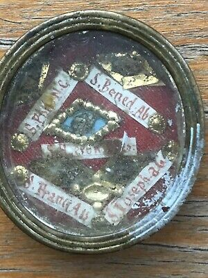 Relic Reliquary S Francis Assisi And 4 Saints