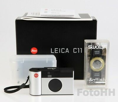 """Leica """"c11 Skipass-Set"""" Silver (Leica Number 18092) New In Box,rare Collectable"""