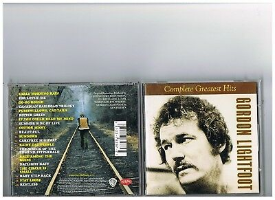 Gordon Lightfoot Cd. Greatest Hits..the Best Of..complete