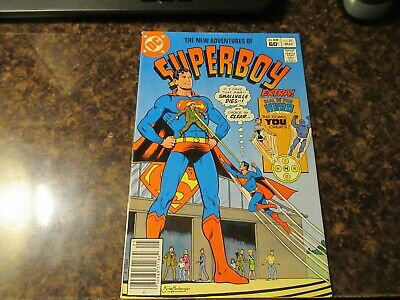 The New Adventures Of Superboy #29 DC 1982 Comic Book