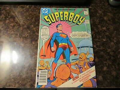 The New Adventures Of Superboy #7  DC 1981 Comic Book