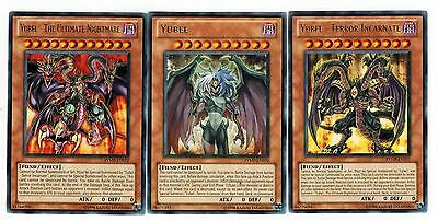 All 1st Yubel +The Terror Incarnate + Ultimate Nightmare RYMP-EN072 Rare Yugioh