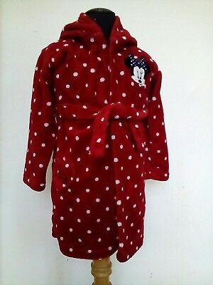 Girls 18-24 Months Disney Red Minnie Mouse Dressing Gown