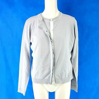 Max Mara Weekend Donna Twinset Paglia Tg. XL 40 Maglione Cardigan Np 299  Nuovo 9108a2aabf5