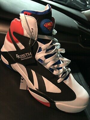714142c17a6 Reebok Shaq Attaq SP Superman Size 11 White Red Blue CN5728 Shaquille Pump  NIB