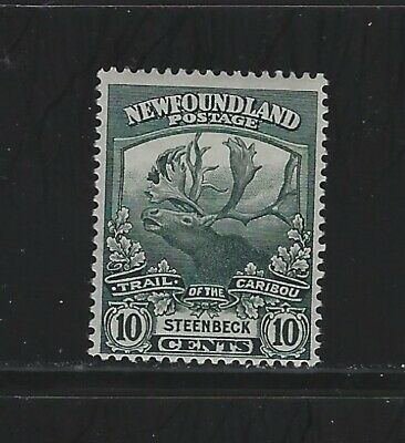 NEWFOUNDLAND - #122 - 10c TRAIL OF THE CARIBOU MINT STAMP (1919) STEENBECK