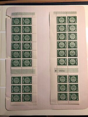 Israel 1950-52 MERED II Tete Beche pairs and gutters Set of Strips