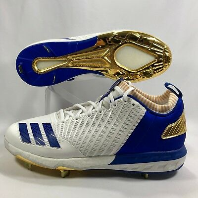 Adidas Boost Icon 3 Kris Bryant PE Sample Baseball Cleats CG5481 Mens Size  13.5 fabe46d4c