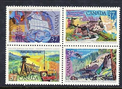 CANADA NO  1202a (1199 TO 1202), EXPLORATION OF CANADA #3,  MINT NH