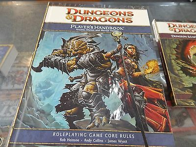 Dungeons & Dragons Players Handbook  -  Arcane Divine and Martial Heroes