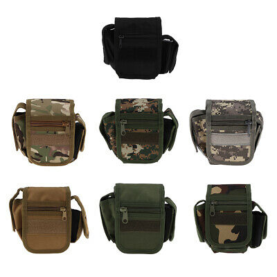 Tactical Molle Pouch Belt Waist Backpack Military Fanny School Bag Pack Case