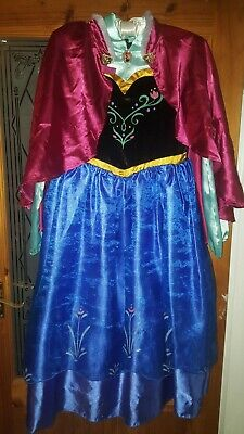 Official Disney store Frozen Anna Dress age 11 - 12 world book day costumes 33321eda5