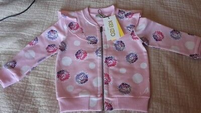 Other Newborn-5t Girls Clothes United Gilet Kenzo Taille 2ans Neuf