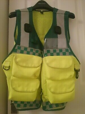 Protec Medic vest for ambulance first aid event cover cycle response