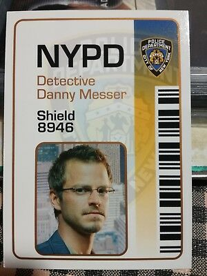 Carmine Giovinazzo as DANNY MESSER Limited Edition ID card in CSI NY