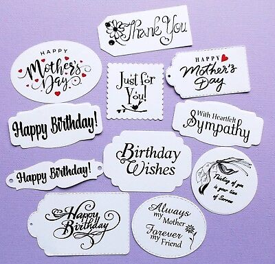 Mixed Sentiments X 11 Variety Pieces Birthday Mother's Day Thank You Sympathy