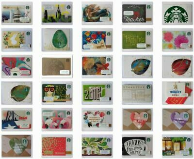 100's of GIFT CARDS: YOU CHOOSE Starbucks copyright 2015 Gift Cards - USA