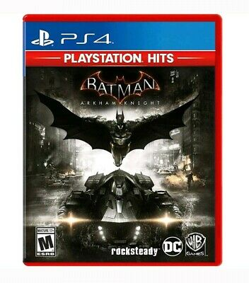 Batman: Arkham Knight - PlayStation 4 Hits PS4 Brand New Factory Sealed