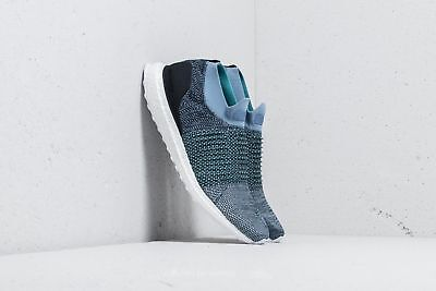 uk availability 15f39 785a0 adidas Ultra Boost Laceless Parley Men s (8.5 - 13) Grey Blue CM8271  UltraBoost