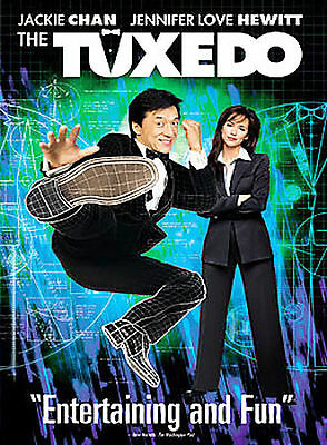 The Tuxedo (Widescreen Edition) JACKIE CHAN DVD IN SLIM CASE, NO ART 01