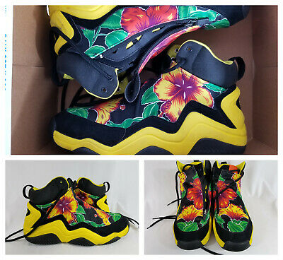 wholesale dealer d803a a1118 Adidas Originals sneakers Jeremy Scott Instinct Hi shoes Top JS Floral RARE  SZ 9