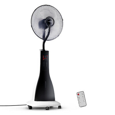 Devanti Portable Misting Fan with Remote Control - White