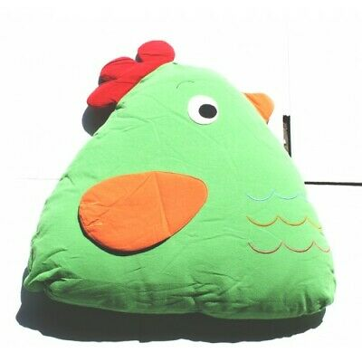 Chick Cuddling Cushion(15x18x35 Cm) Green