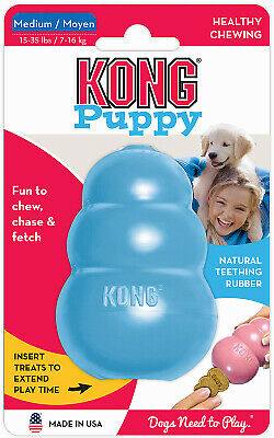 PHILLIPS PET FOOD SUPPLY Kong MED BLU Puppy Toy KP2