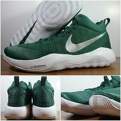 the best attitude 625c3 49155 New Nike Zoom Rev TB Basketball Shoes Green-White 902589-301 Men s Size 18