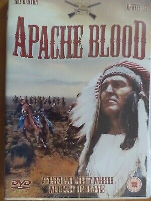 Apache Blood [DVD], DVD WESTERN UK.FREE POST & Fast Delivery