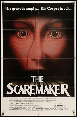 THE SCAREMAKER (1982) original movie poster - horror - $19 99 | PicClick