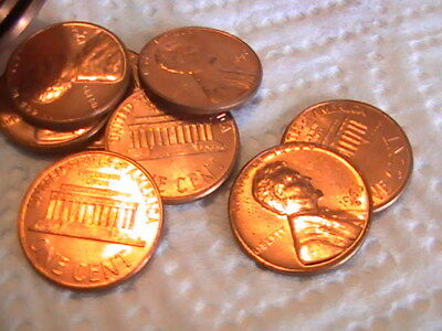 Us Lincoln Cent Roll Bu. Roll Bright Uncirculated 1960 D