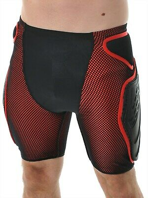 Alpinestars Black-Red Bionic Free Ride MX Protection Shorts