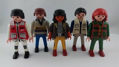 Lot 5 personnages playmobil 1997