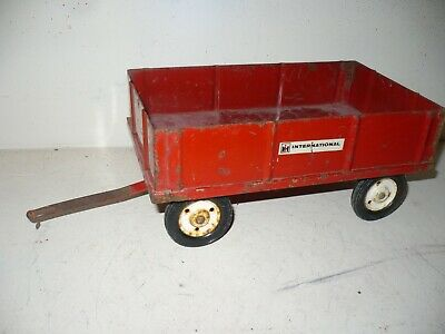 Vintage International Tru Scale Barge Wagon For A Tractor 1/16 Metal Wheel Rims