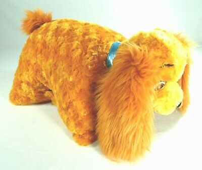 Disney Parks Lady And The Tramp Pillow Pet Dog Toy Plush Disneyland Exclusive