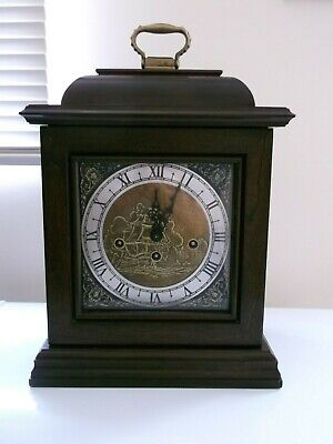 Superb Wuersch Antique 8 Day  Westminster Chiming Mahogany Bracket/ Clock