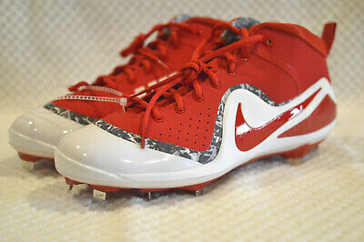 46be3b779de Nike Men s Force Zoom Trout 4 Baseball Cleats Style 917837-660 University  Red