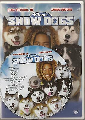 Snow Dogs (DVD, 2002) U.S. Issue Disc Only Disney Cuba Gooding Jr. James Coburn!