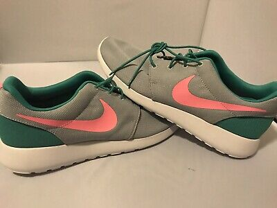 620470847e661 NEW Nike Roshe One Run South Beach Green Pink 511881-036 Size 12 Sport Train