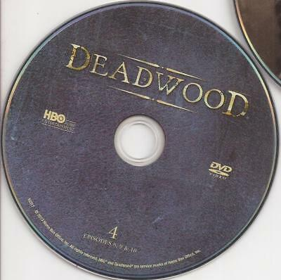 Deadwood (DVD) HBO Third Season 3 Disc 4 Replacement Disc U.S. Issue Disc Only!