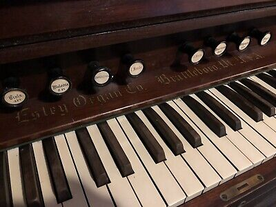 Antique Pedal Church Organ
